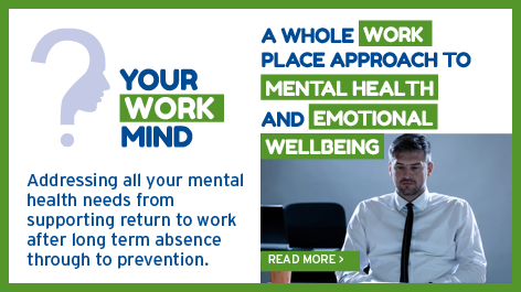 A whole workplace approach to mental health and emotional welllbeing
